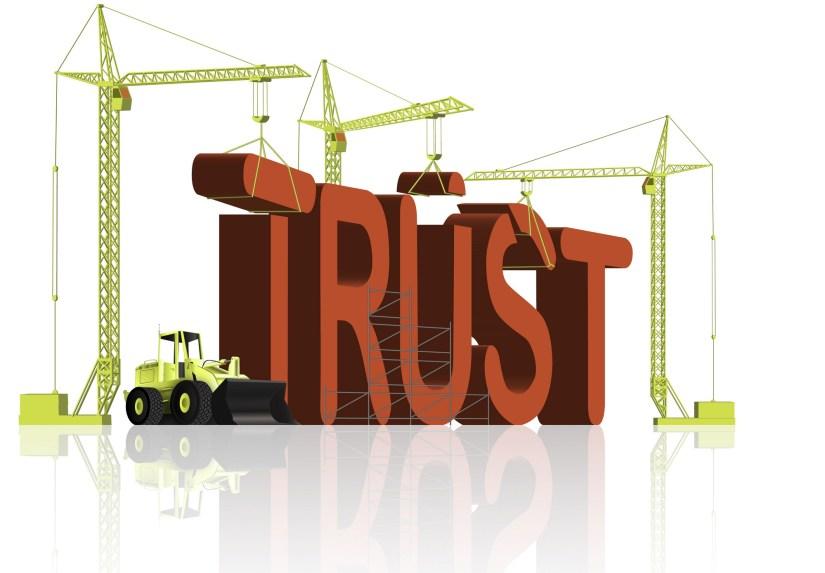 Establishing Trust is a RiskyProposition