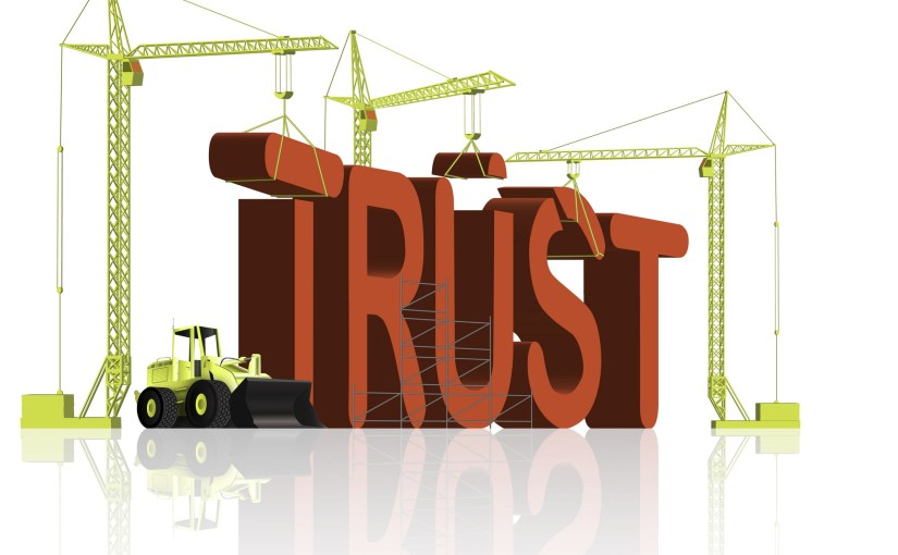 Establishing Trust is a Risky Proposition